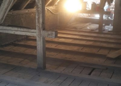 Holz-Verbund-Bauweise Ursprungsboden